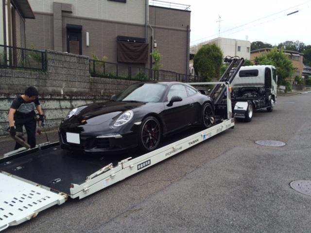 991Sカップエアロ納車