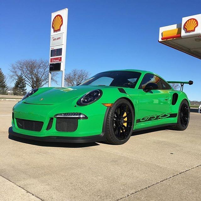 GT3RSバイパーグリーン